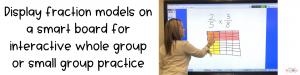 Modeling Fraction Multiplication on a Smartboard