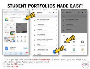 Digital Student Portfolios Directions
