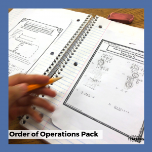 Order of Operations 5th Grade