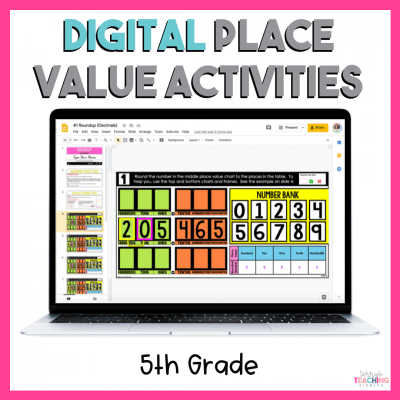 5th Grade Digital Place Value Activities