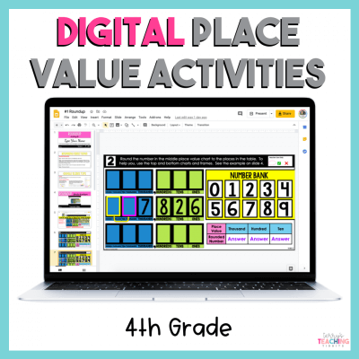 4th Grade Digital Place Value Activities