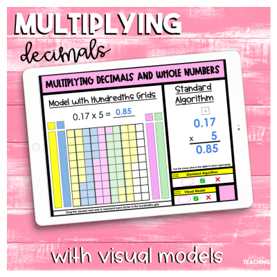 Multiplying Decimals with Visual Models