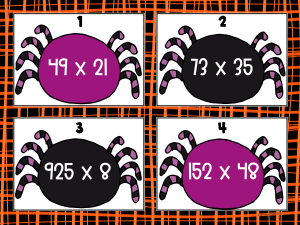 Spider multiplication example