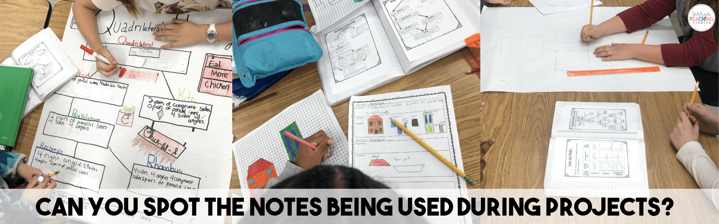 Students Notes while Working on Projects